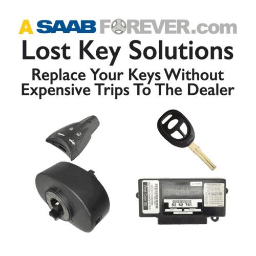 lost saab key service