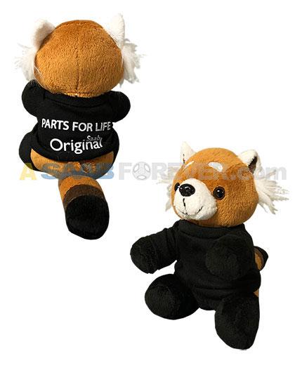 Saab Red Panda Plush Animal Asaabforever Com