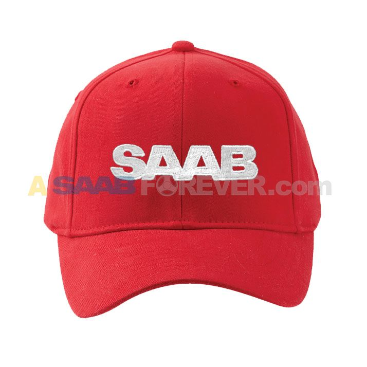 db38e1bf334 SAAB Fitted Cap With SAAB Text