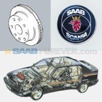 SAAB 9000 Brakes
