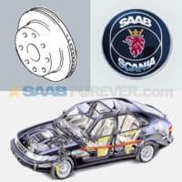 SAAB 900 Brakes