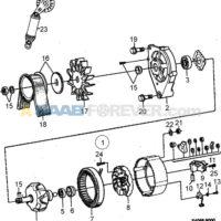 Engine Belt -- Bosch 115A 9000 1985 to 1989