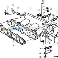 Intake Gaskets -- B234 TURBO 9000 1990 to 1993